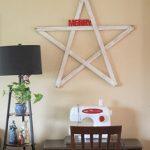 DIY Christmas Yardstick Star