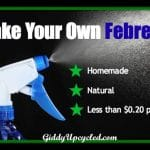 Make Your Own Febreeze!