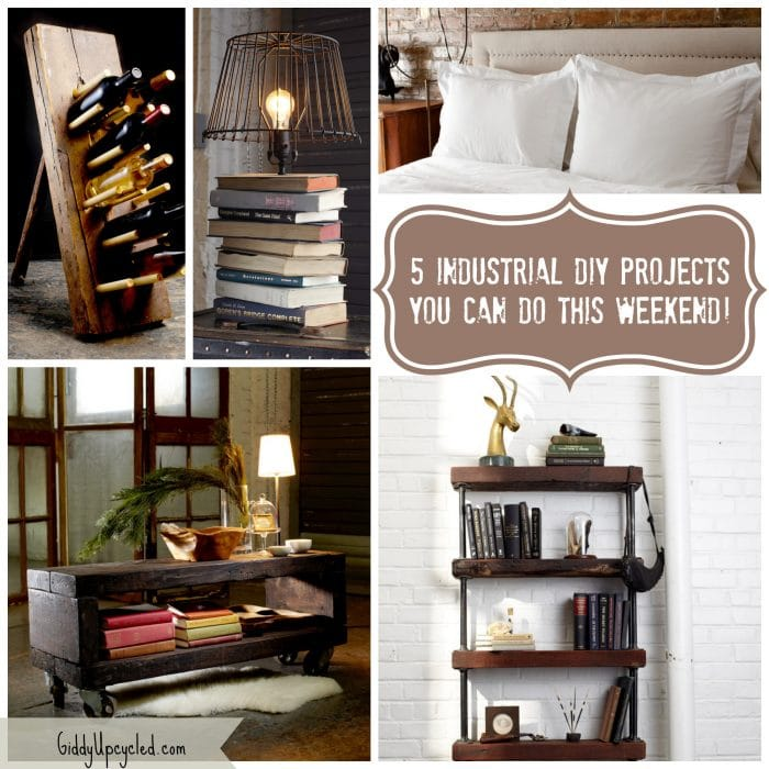Rustic Diy Furniture. So Which One Would You Like To Work On This Weekend (