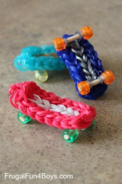 20 Amazing Rain... Rainbow Loom Bow Tie Bracelet