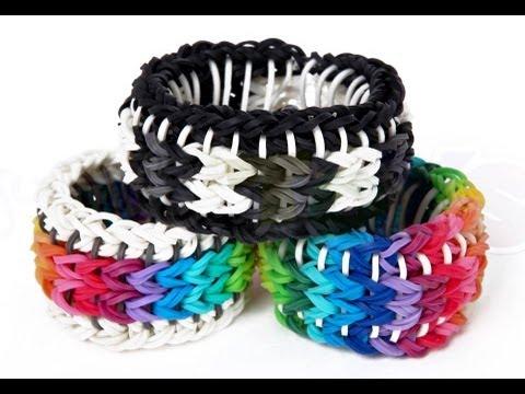 20 Amazing Rainbow Loom Designs by GiddyUpcycled.com