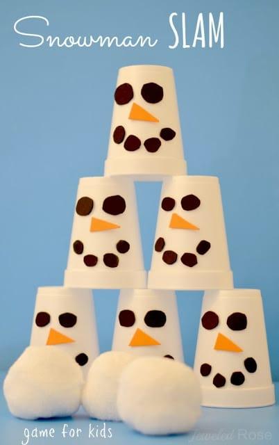snowman slam game