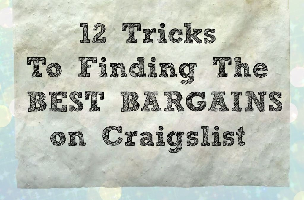 12 Tips for Scoring BIG on Craigslist