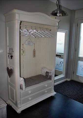 Armoire Repurpose Bedroom