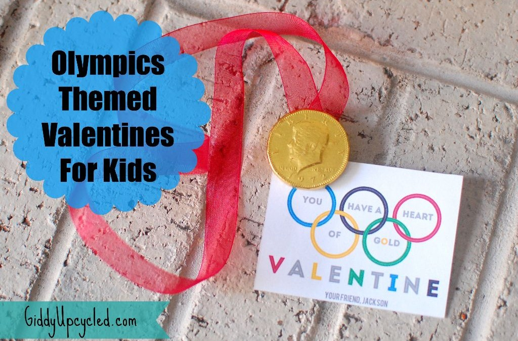 Olympics Valentines For Kids