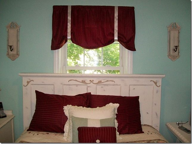 repurposed-door-headboard