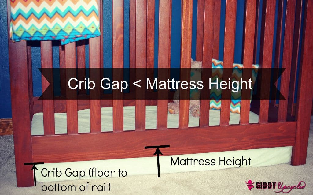 Hack #1 u2013 Remove your cribu0027s mattress support completely leaving the mattress directly on the floor (important details below) & 3 DIY Hacks To Prevent Your Child From Climbing Out Of Their Crib ...