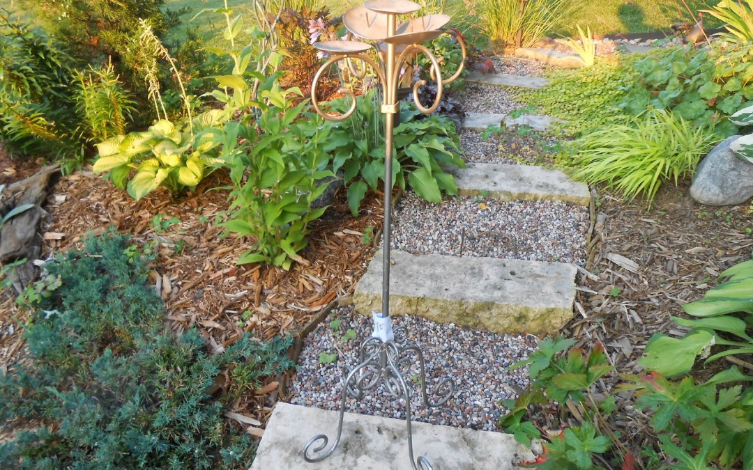 Beat Up Thrift Store Standing Candelabra Upcycled Into A…