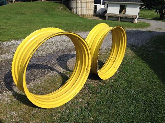 Tractor Rims – Upcycled Into Minion Goggles?   Or… Something Better?