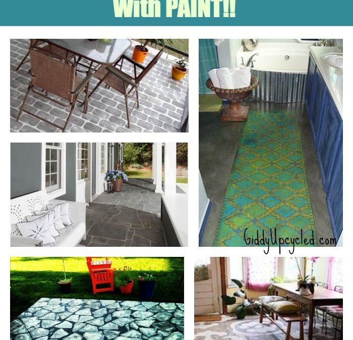 25+ Ideas for Painting A Cement Slab Or Walkway