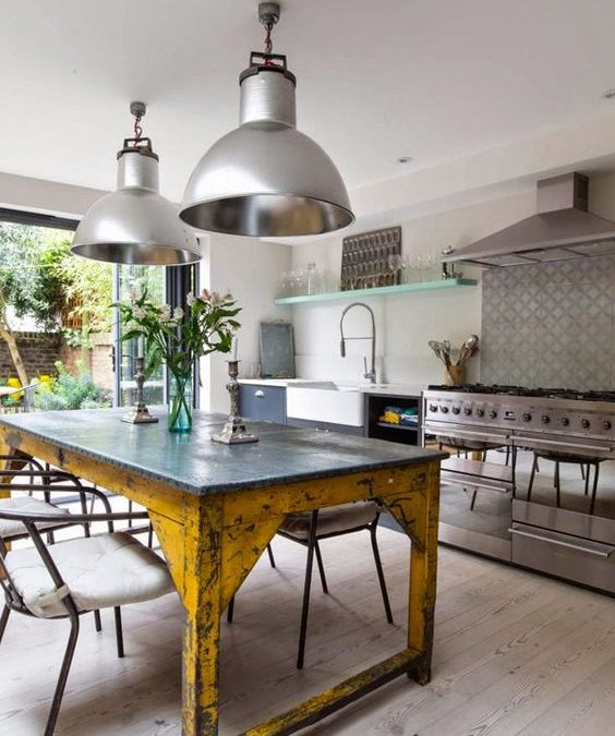 20 Unique Upcycled Kitchen Island Ideas