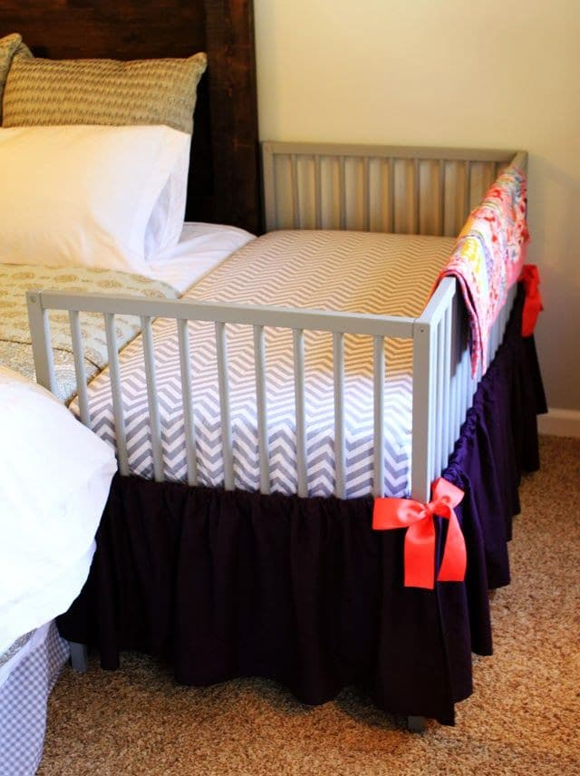 19 Crib Hacks - Repurpose or Add Purpose to An Old Crib - Giddy Upcycled