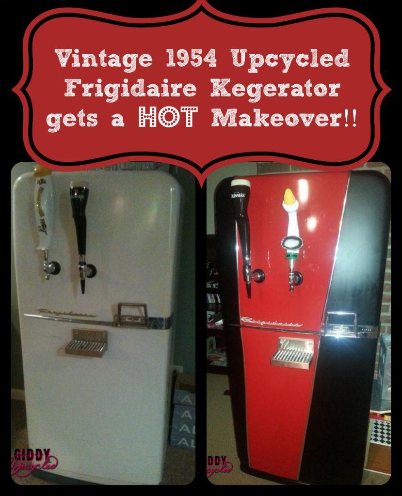 Vintage 1954 Frigidaire Kegerator Makeover