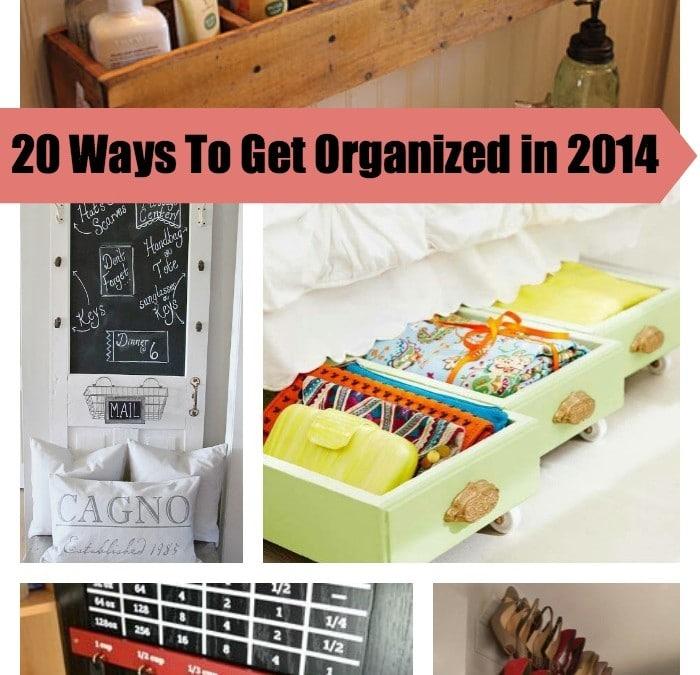 Get Organized This Year – 20 Genius Upcycled Storage Ideas