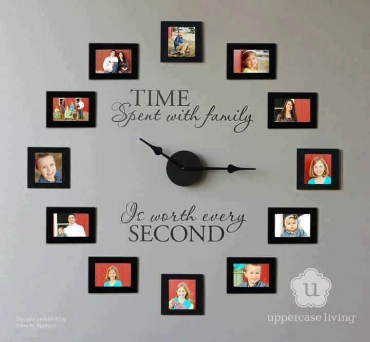 Family Photos Wall Clock – LOVE This!