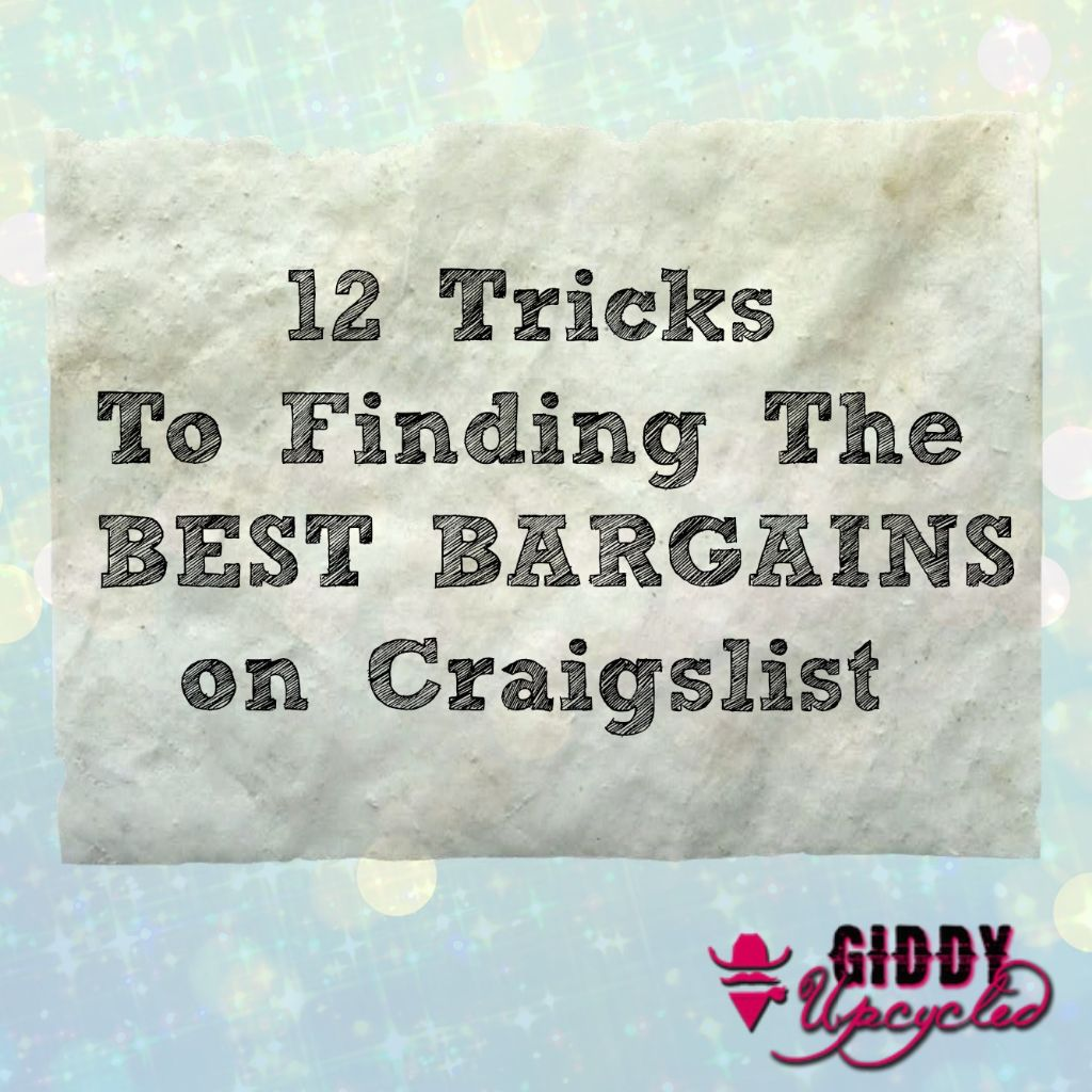 12 Tips for Scoring BIG on Craigslist
