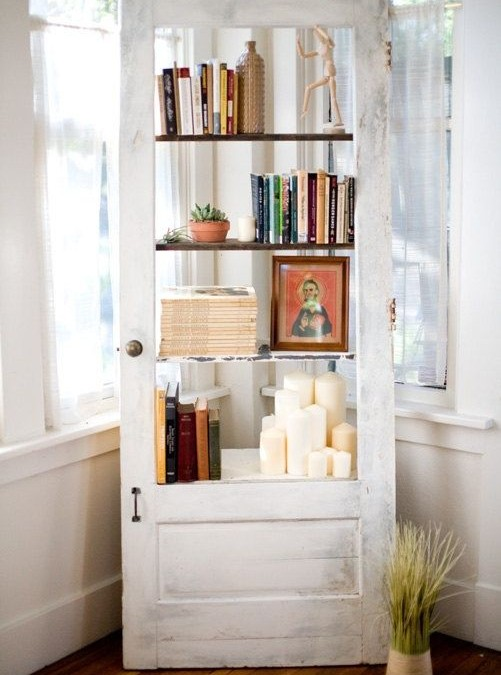 60+ Ways To Upcycle Salvaged Doors