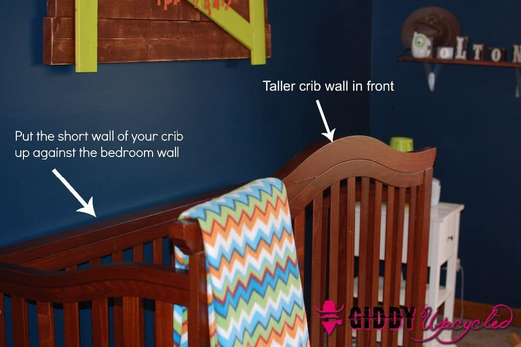 3 Diy Hacks To Prevent Your Child From Climbing Out Of Their Crib Giddy Upcycled