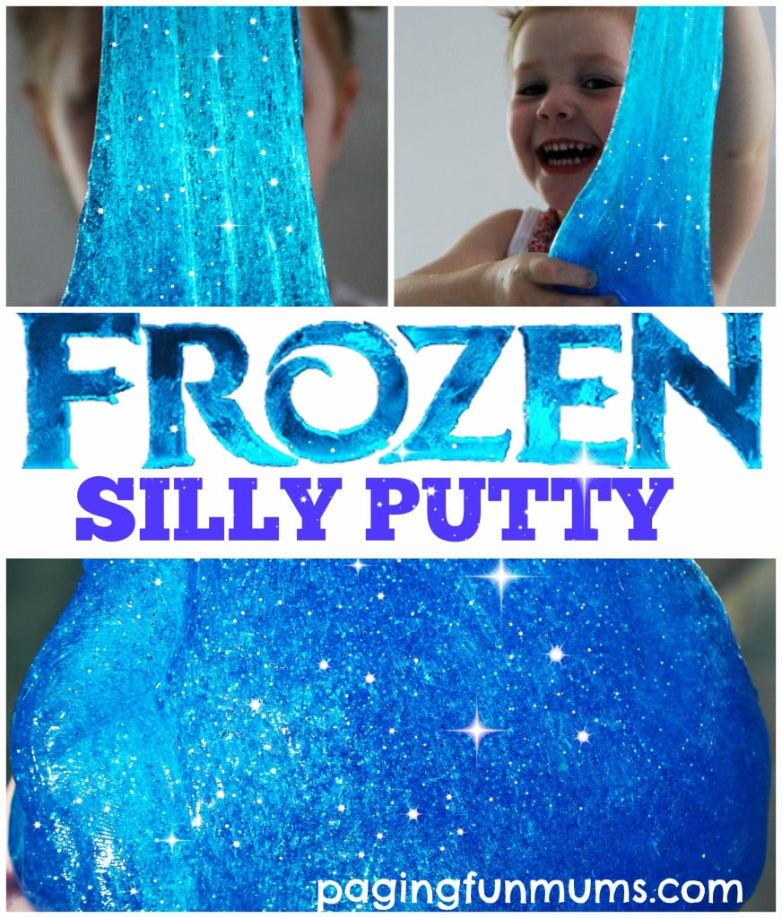Frozen Silly Putty!