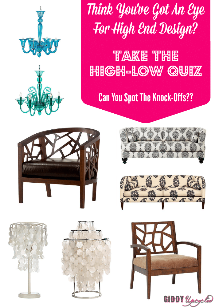 High Low Design Quiz – Can You Pick Out The KnockOffs?