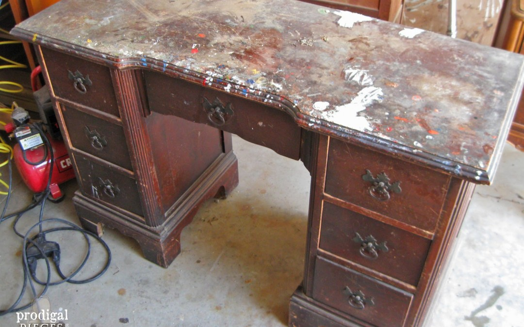 World's Ugliest Desk Gets A Makeover, And Is Unrecognizeable!
