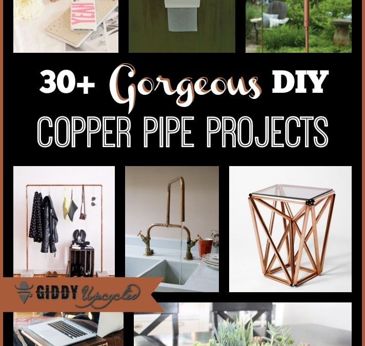 DIY Upcycled Copper Pipe Projects – 30 Inspiring Ideas!