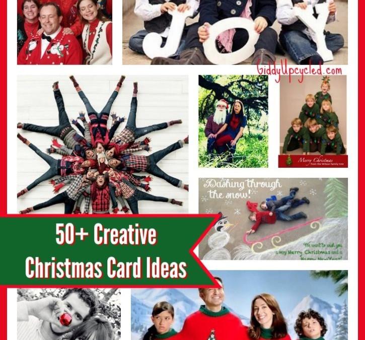 80+ Creative Christmas Card Ideas