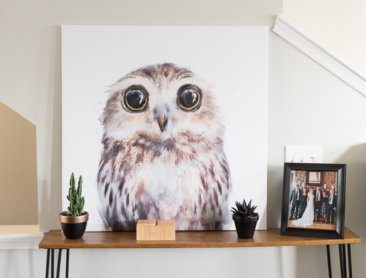 How to Update Old Canvas Art