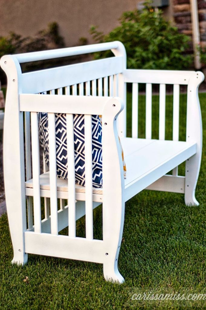 19 Crib Hacks – Repurpose or Add Purpose to An Old Crib