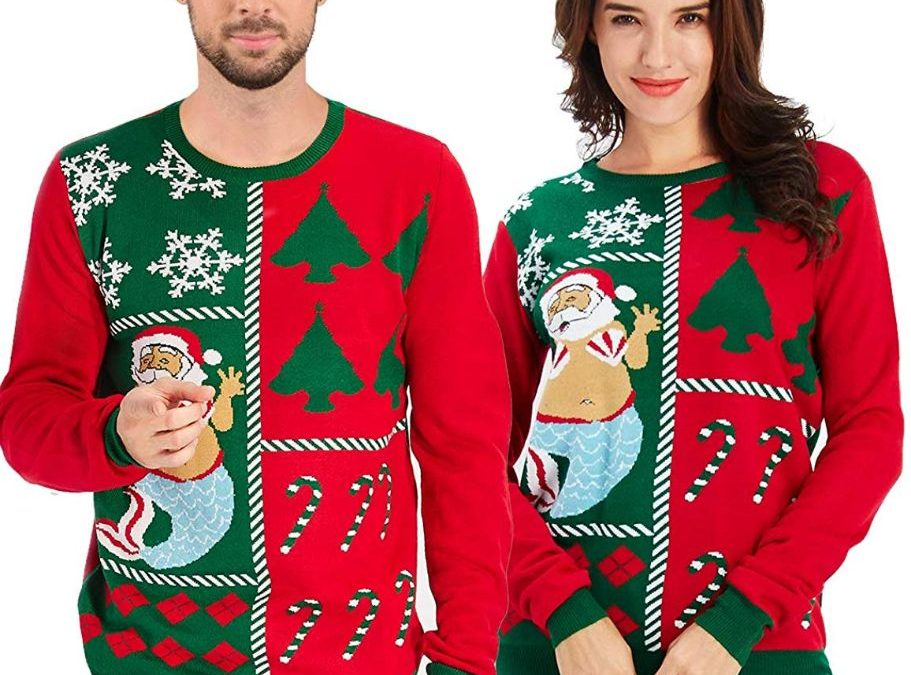 20 Hilariously Heinous Ugly Christmas Sweaters for Your Next Holiday Party