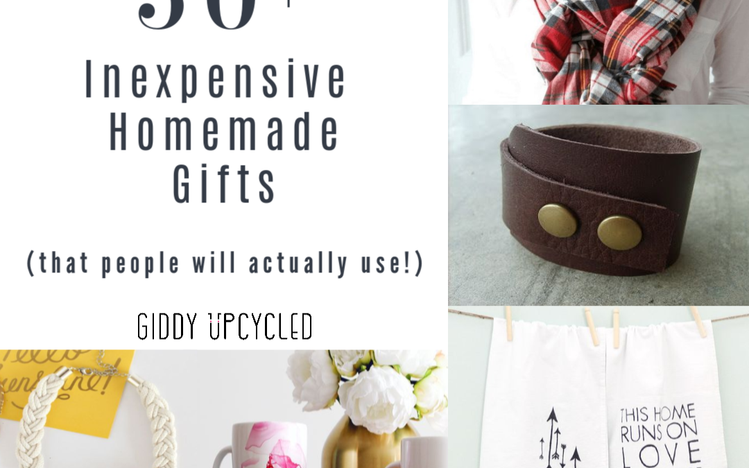 50 Inexpensive Homemade Gifts (that people would actually use!)