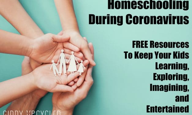 Coronavirus Homeschooling:  Free Home Activities for Families in Self Isolation